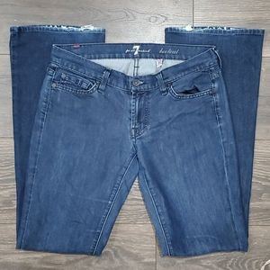 ❤7 FOR ALL MANKIND BOOTCUT JEANS, size 4 (27)